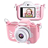 Kriogor Kinder Kamera, Digital Fotokamera Selfie und Videokamera mit...