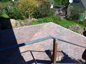 Muster Terrasse Steine Verlege-Muster