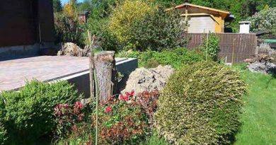 Terrasse selber bauen voher - nachher Bilder