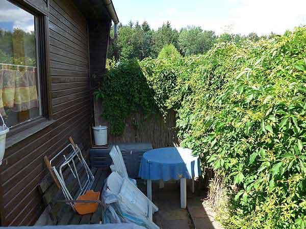 Terrassenbau Terrasse vorher