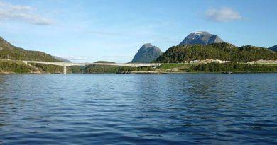 Blick-auf-Fjord Norwegen Reisen angeln und Wandern