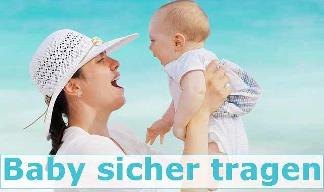 Baby-Tragehilfen Testvergleich wie sicher sind Tragehilfen für Babys?