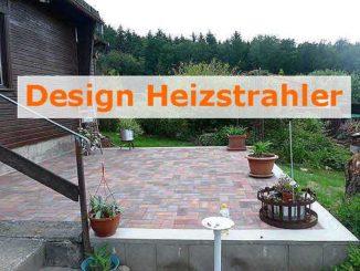 Design Heizstrahler Terrasse Infrarottechnik ©