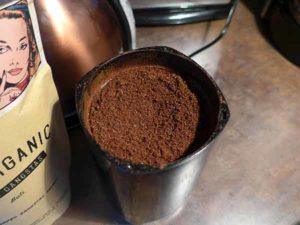Kaffeebohnen frisch gemahlen Foto©AL