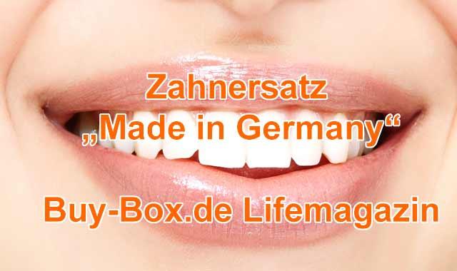 Zahnersatz aus Deutschland